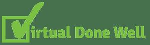 Virtual Done Well Logo