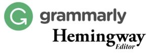 Grammarly & Hemingway for correcting grammars of the Content Writers